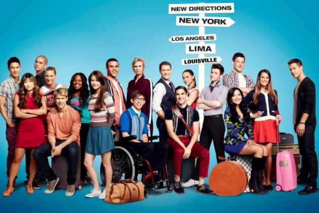Glee Season 4 Cast Pic