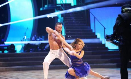 Lea Thompson and Artem Chigvintsev - Dancing With the Stars Season 19 Episode 8