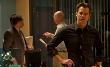Timothy Olyphant on Justified