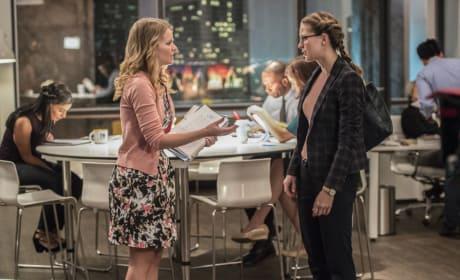 Miss Tessmacher - Supergirl Season 2 Episode 12
