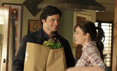 Clark and Lois Scene