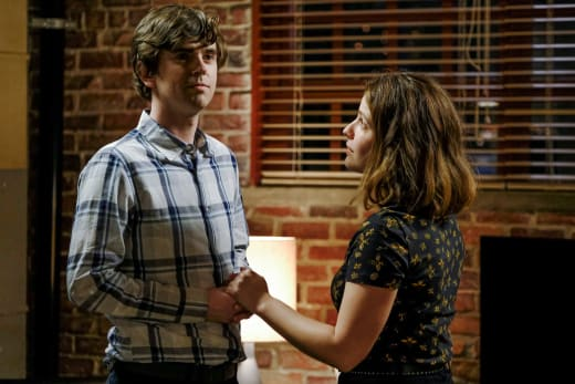 Lea Encourages Shaun - The Good Doctor Season 4 Episode 11
