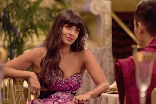 Tahani Talks to Jason - The Good Place Season 2 Episode 5
