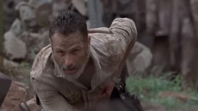 Rick Survives - The Walking Dead