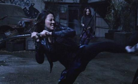 Kira Battling Oni