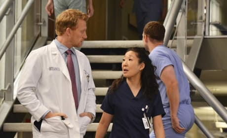 Owen with Cristina