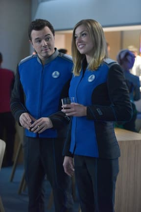 Renewed Interest - The Orville Season 1 Episode 11