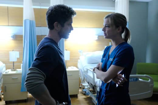 Another TIff - The Resident Season 1 Episode 5