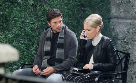 Eric Focuses on Jennifer - Days of Our Lives