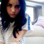 Demi Lovato Cut Up