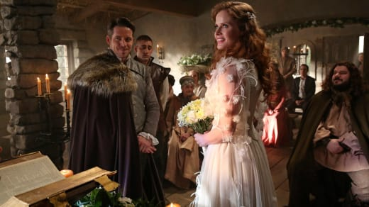 Sean Maguire and Rebecca Mader