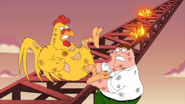 Peter vs. Chicken