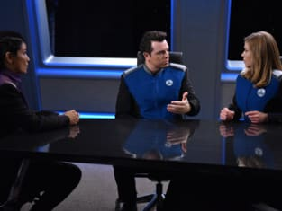 Admiral in the Room - The Orville Season 1 Episode 6