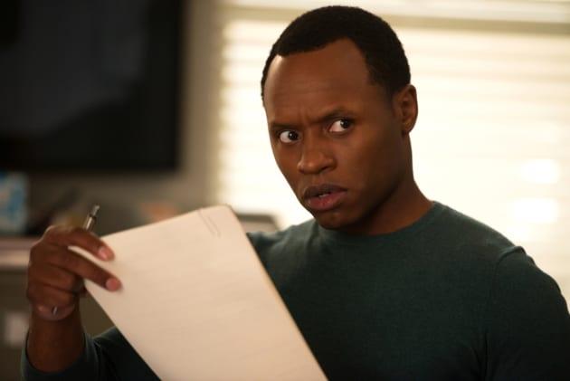 Clive's WTF Face - iZombie Season 4 Episode 2