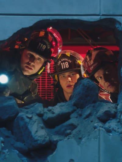 A Big Hole Tall - 9-1-1 Season 2 Episode 15
