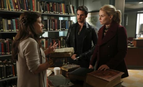 Help in the Library - Once Upon a Time Season 6 Episode 9