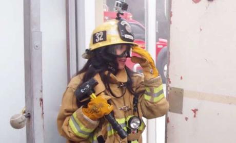 Kourtney as a Firefigher - Keeping Up with the Kardashians