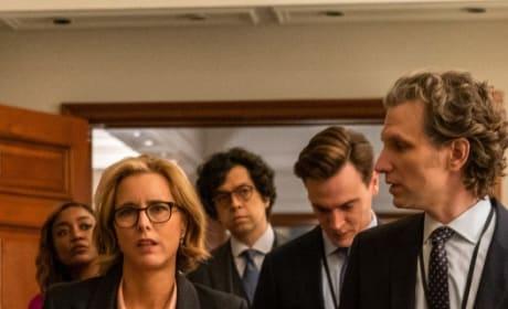 The Staff Walks In - Madam Secretary Season 5 Episode 16