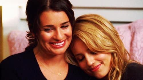 Quinn and Rachel - Glee