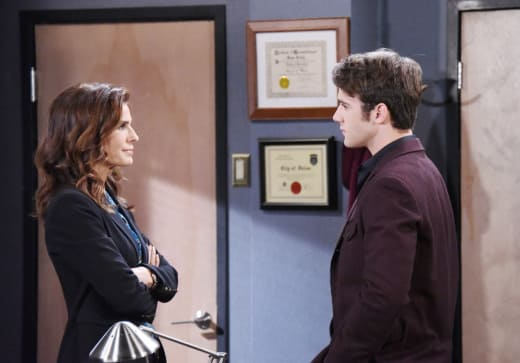 Hope Encourages JJ - Days of Our Lives