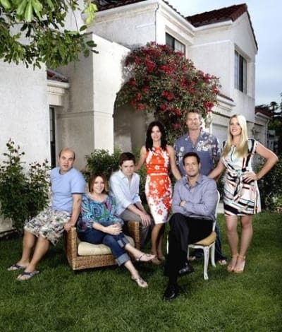Cougar Town Cast Picture