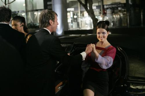 Sage Gets Out of the Limo