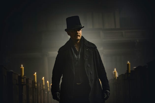 James Delaney Makes a Grand Entrance - Taboo Season 1 Episode 1