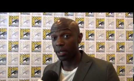 David Gyasi Teases Containment: What's on Tap?