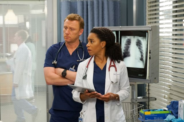 Trauma and Cario Team - Grey's Anatomy Season 15 Episode 23