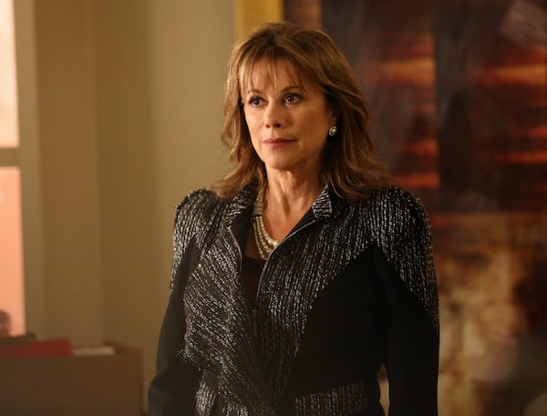Nancy Lee Grahn on Castle