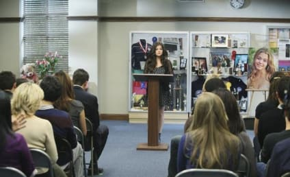 Pretty Little Liars Pics: Welcome to Alison's Memorial