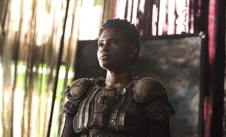 Indra Back at Polis - The 100 Season 3 Episode 3