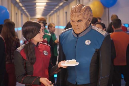 Cake for Bortus - The Orville Season 2 Episode 8