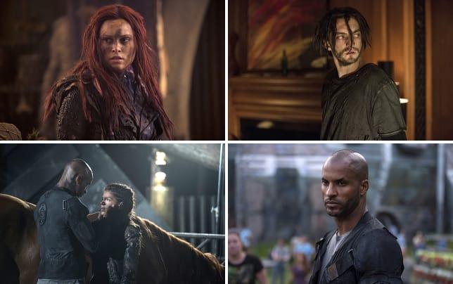 Clarkes new look the 100 season 3 episode 1