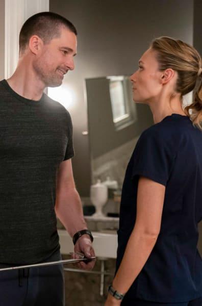 Nick & Sarah Talk - The Village Season 1 Episode 4