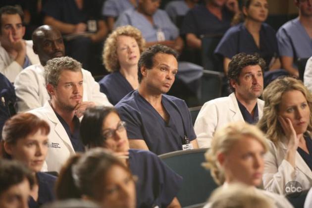 Mark and Derek Look On