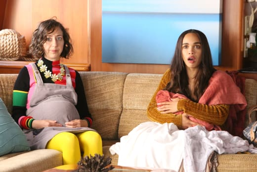 New moms of Last Man on Earth - The Last Man on Earth Season 4 Episode 1