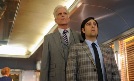 Ted Danson and Jason Schwartzman
