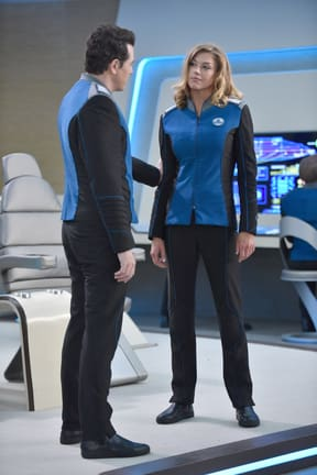 On the Bridge - The Orville Season 1 Episode 5