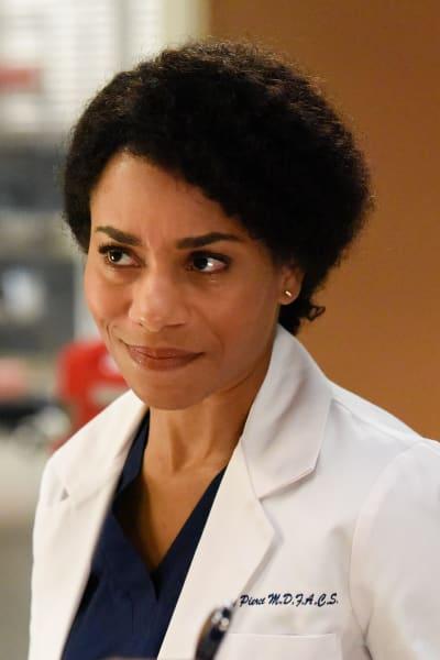 Maggie Smirks - Tall  - Grey's Anatomy Season 16 Episode 20