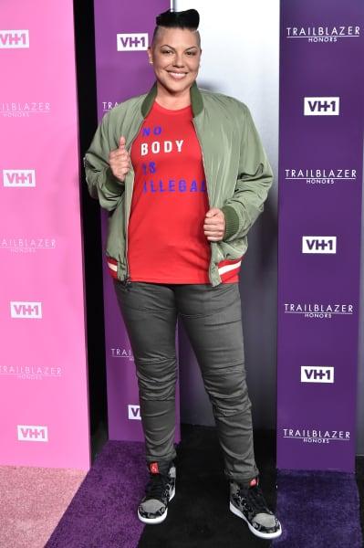 Sara Ramirez Attends VH1 Event