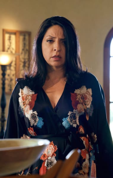 Camila Looks Shocked - Queen of the South Season 3 Episode 7