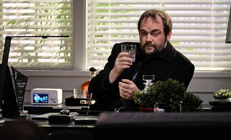 "Crowley getting some ""me time"" - Supernatural Season 12 Episode 7"