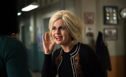 iZombie Photo Preview: Ms. Priss and the Plebs!