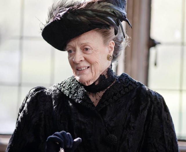 The Dowager Countess Violet Crawley - Downton Abbey
