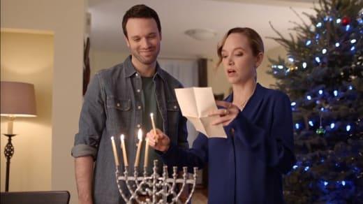 Interfaith Holiday - Mistletoe & Menorahs