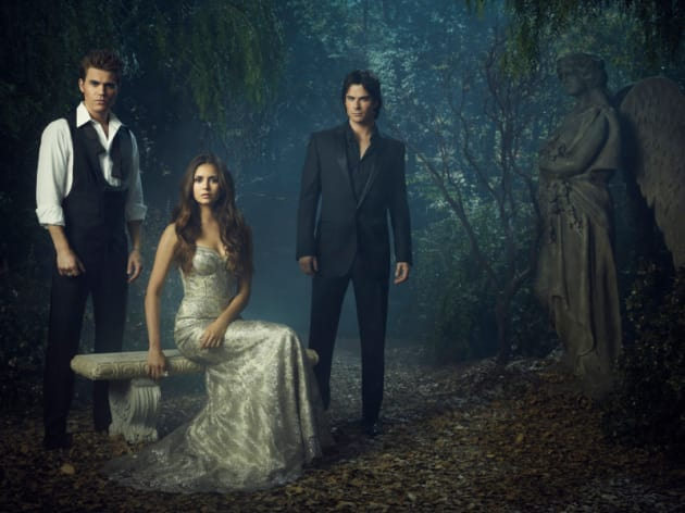 Vampire Diaries Season 4 Promo Pic