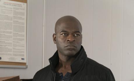 Dembe looks around - The Blacklist Season 4 Episode 17