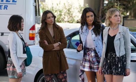 Not Impressed - Pretty Little Liars Season 6 Episode 4