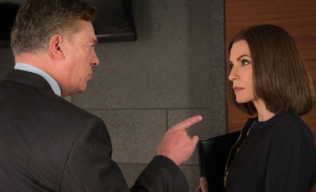 Going Up Against the Judge - The Good Wife